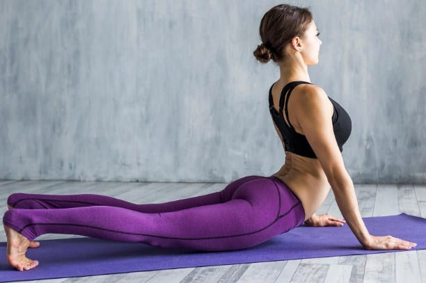 Cobra Pose- Yoga Poses for Sciatica Pain Relief