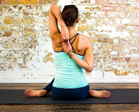 Cow Face Pose -Effective Yoga Poses for Neck and Back Pain Relief