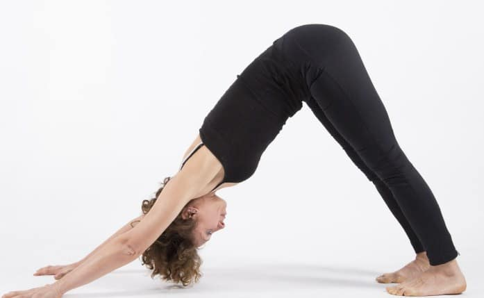 Downward Facing Dog (Adho Mukha Svanasana)- Pose for Quick Relief From Back Pain