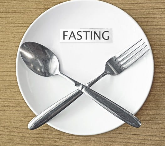 Fasting for 24hours once or twice in a week
