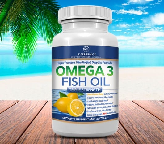 Fish oil for total body weight loss