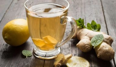 How to Make Ginger Tea Recipe For Weight Loss and Detox Cleanse at Home