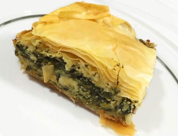 Greek Spinach Pie- Quick Weight Loss Starter
