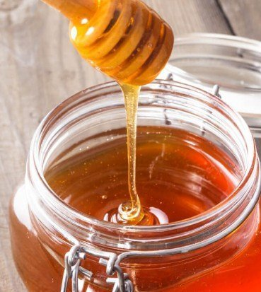 Honey  to eliminate flabby belly skin naturally