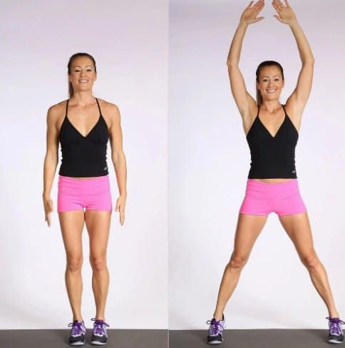 Jumping Jacks to Burn Off Calories Quickly