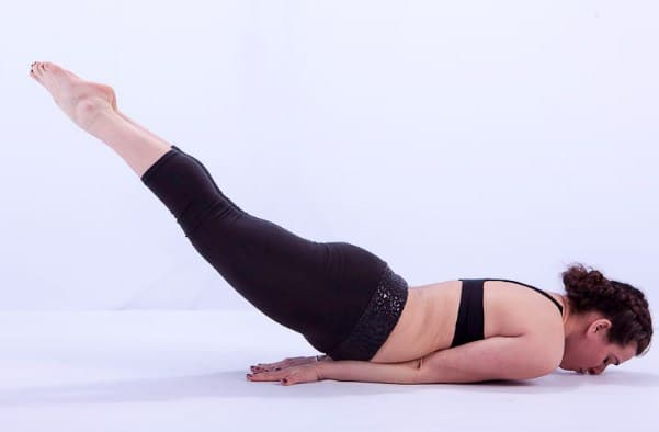 Locust Pose- Yoga Poses for Sciatica Pain Relief
