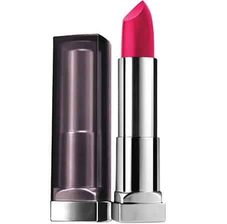 Maybelline Color Sensational Creamy Matte Lip Color in 'All Fired Up' - Best Drugstore Matte Hydrating Lipstick