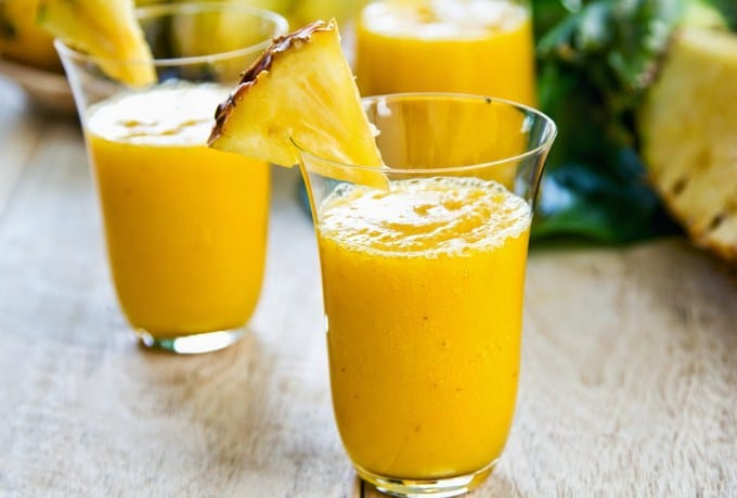Pineapple and Sugarcane drink - Best Detox Drinks For Weight loss & Flat Belly