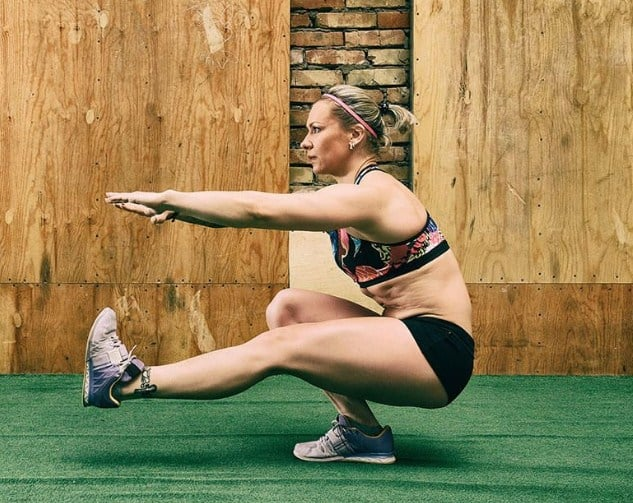 Pistol Squat- 8 Cross Fit Workouts to get rid of body fat