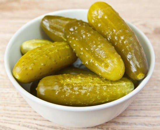 Salted Gherkin Pickles- 13 Super Healthy Probiotic Food & Drink Recipes To Heal Your Gut