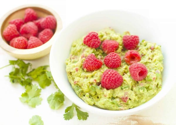 Strawberries Guacamole Bites-16 Easy and Quick Low Carb Keto Appetizers