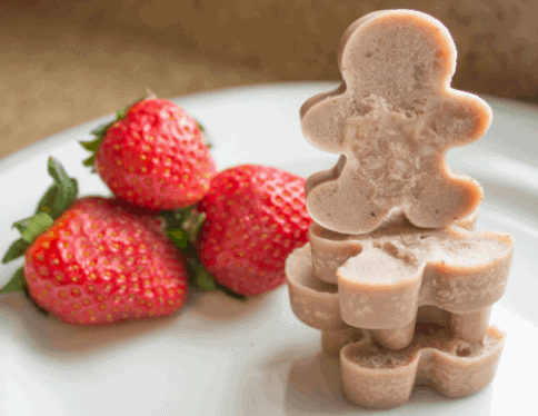 Strawberry Filled Coconut Fat Bombs - Low Calorie Snack Ideas