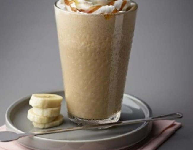 Thick Banana Iced Coffee for shedding off calories