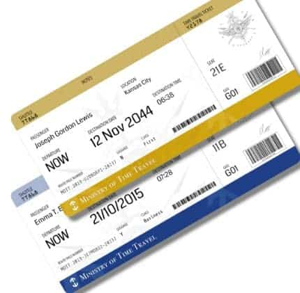 Travel Ticket- Perfect Gift For Your Cooking Enthusiast