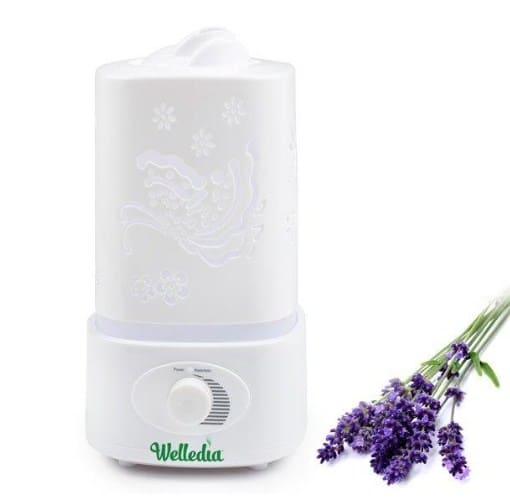 Ultrasonic Aromatherapy Diffuser, Wave 250ml by Welledia - The 5 Best Essential Oil Diffusers For Every Home in 2020