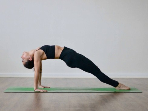 Upward Plank Pose (Purvottanasana)- Yoga Moves for Back Pain You Should Try