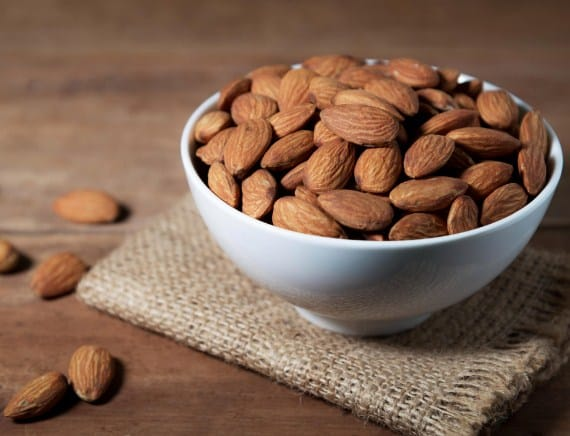 Almonds-7 Days Six Pack Abs Diet Meal Plan
