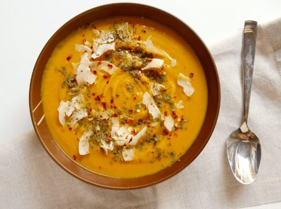 Butternut Squash Soup for Burning Calories