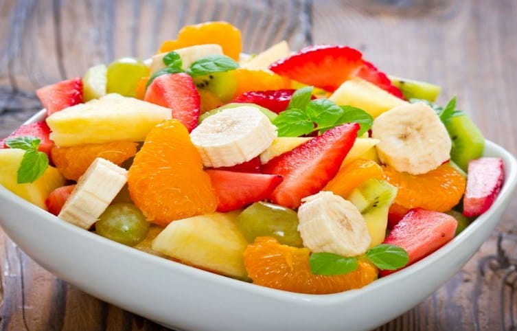 Fruit Salad-- Low-carb Snacks That Fill you up
