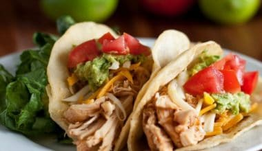 Shredded Chicken Tacos- 8 Quick Low-Carb Dinner Recipes- Simple and Delicious