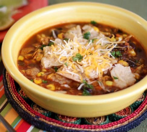 Tortilla Soup- Weight Loss Soup Recipes