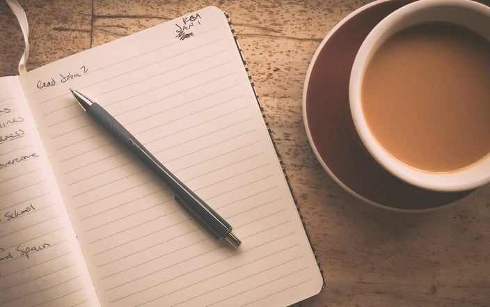 Write it Down-  5 Genius Goal Setting Activities That Make You 88% More Likely to Succeed